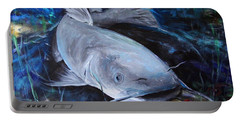 The Catfish And The Crawdad Portable Battery Charger