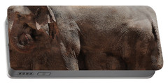 Portable Battery Charger featuring the digital art The Cave by Robert Orinski