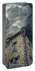 Portable Battery Charger featuring the photograph The Cell Block Restaurant by Greg Reed