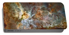 The Central Region Of The Carina Nebula Portable Battery Charger
