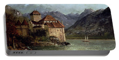 The Chateau De Chillon Portable Battery Charger