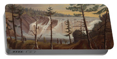 The Chaudiere Falls Portable Battery Charger
