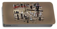 The Chess Match In Portland Portable Battery Charger