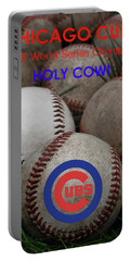 The Chicago Cubs - Holy Cow Portable Battery Charger