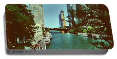 The Chicago River Portable Battery Charger