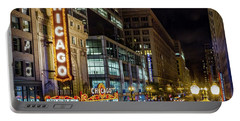 The Chicago Theatre Portable Battery Charger