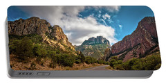 The Chisos Mountains Portable Battery Charger