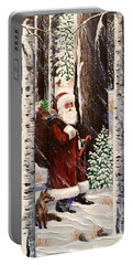 The Christmas Forest Visitor 2 Portable Battery Charger