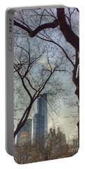 The City Through The Trees Portable Battery Charger