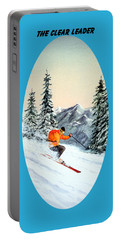 The Clear Leader Skiing Portable Battery Charger by Bill Holkham