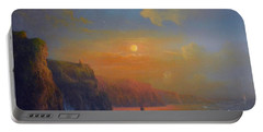 Ireland The Cliffs Of Moher  Portable Battery Charger by Joe Gilronan