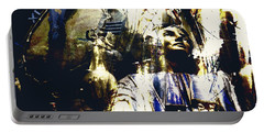 Portable Battery Charger featuring the photograph The Clock Struck One by LemonArt Photography