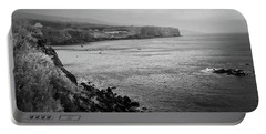 The Coast Of Terceira Portable Battery Charger by Kelly Hazel