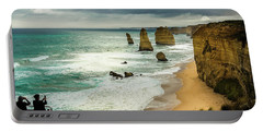 Portable Battery Charger featuring the photograph The Coast by Perry Webster
