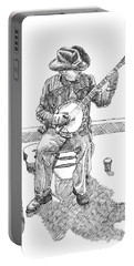 The Cold Banjo Player Portable Battery Charger