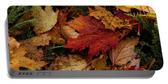 Portable Battery Charger featuring the photograph The Color Of Fall by Hans Franchesco