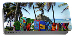 Portable Battery Charger featuring the photograph The Colors Of Barbados by Kurt Van Wagner
