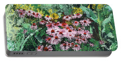 Coneflowers  Garden Portable Battery Charger