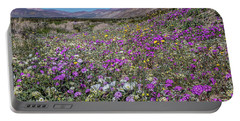 Portable Battery Charger featuring the photograph The Colors Of Spring Super Bloom 2017 by Peter Tellone