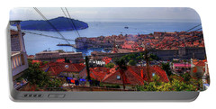 The Colourful City Of Dubrovnik Portable Battery Charger