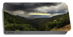 Portable Battery Charger featuring the photograph The Coming Storm by Rick Furmanek