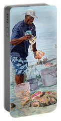 The Conch Man Portable Battery Charger