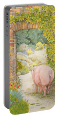 The Convent Garden Pig Portable Battery Charger by Ditz