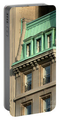 Portable Battery Charger featuring the photograph The Copper Attic by RC DeWinter