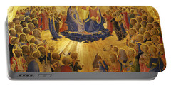 The Coronation Of The Virgin Portable Battery Charger