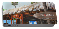 The Cottage On Siesta Key Portable Battery Charger by Lloyd Dobson