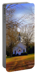 The Country Church Portable Battery Charger by Kathy White