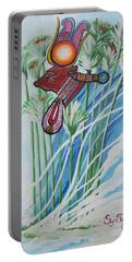 Blaa Kattproduksjoner           The Cow Goddess - Hathor Portable Battery Charger