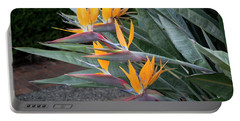 The Crane Flower - Bird Of Paradise  Portable Battery Charger