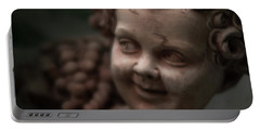 The Creepy Statue Portable Battery Charger