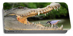 The Crocodile Bird Portable Battery Charger