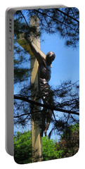 The Cross In The Woods Portable Battery Charger