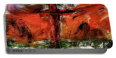 The Crucifixion #1 Portable Battery Charger