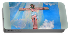 The Crucifixion Daytime Portable Battery Charger
