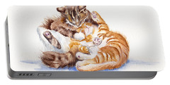 The Cuddly Kittens Portable Battery Charger