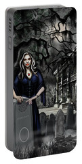 Portable Battery Charger featuring the painting The Curse Of Johnson Bayou by James Christopher Hill
