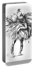 The Dance Macabre Portable Battery Charger by Yvonne Wright