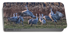 Portable Battery Charger featuring the photograph The Dance by Shari Jardina