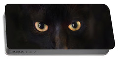 The Dark Cat Portable Battery Charger by Gina Dsgn
