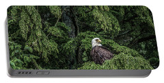 Portable Battery Charger featuring the photograph The Dark Eyed One by Timothy Latta