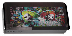 Portable Battery Charger featuring the photograph The Dark Side -  Graffiti by Colleen Kammerer