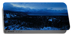 Portable Battery Charger featuring the photograph The Dawn Of Winter by Sean Sarsfield