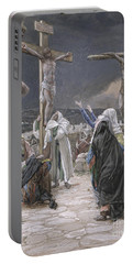 The Death Of Jesus Portable Battery Charger