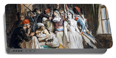 The Death Of Marat Portable Battery Charger