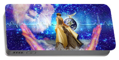 The Depth Of Gods Love Portable Battery Charger by Dolores Develde
