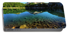 Portable Battery Charger featuring the photograph The Depths Of Lake Helen by John Hight